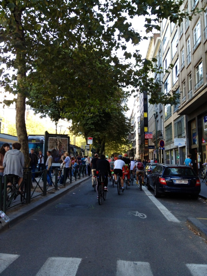 Car Free Sunday, Brussels