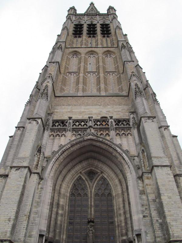 St. Martin's Cathedral in Ypres, Belgium