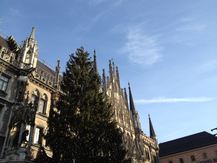 Christmas, Marienplatz, Munich, Germany