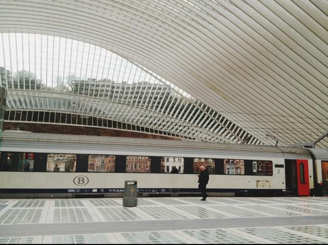Liège-Guillemins Railway Station TGV