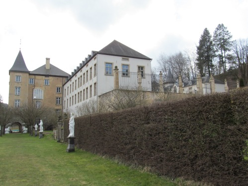 Luxembourg's Ansembourg 17th century Castle via MontgomeryFest