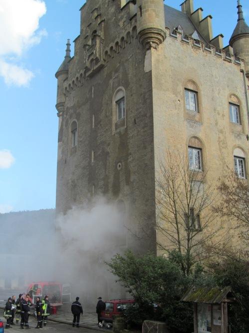 Luxembourg's Schoenfels Castle via MontgomeryFest