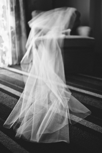 The veil shot via MontgomeryFest | Photography by Taylor Lord Photography