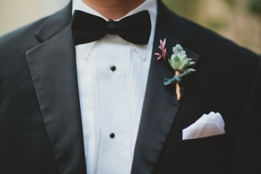 The groom's boutonnière via MontgomeryFest | Photography by Taylor Lord Photography | Florals by Bows and Arrows