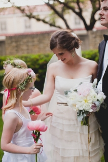 The bride and her flower power team via MontgomeryFest | Photography by Taylor Lord Photography | Florals by Bows and Arrows