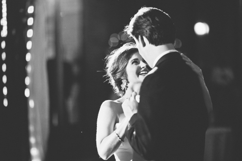 First dance via MontgomeryFest | Photography by Taylor Lord Photography