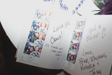 Guest book alternative via MontgomeryFest | Photography by Taylor Lord Photography | Photobooth by Premier Booth