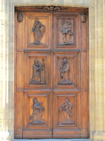 Detailed doors in Florence, Italy via MontgomeryFest
