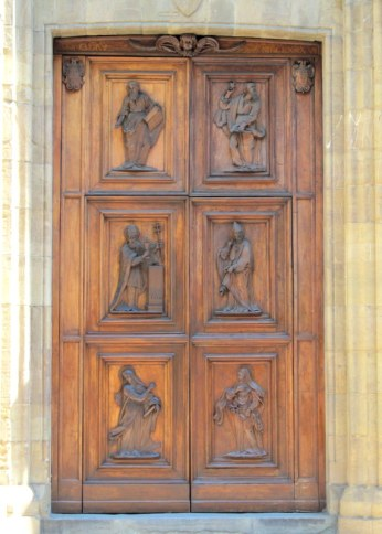Detailed doors in Florence, Italy via MontgomeryFest