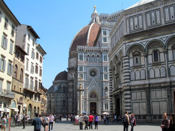 Duomo in Florence, Italy via MontgomeryFest