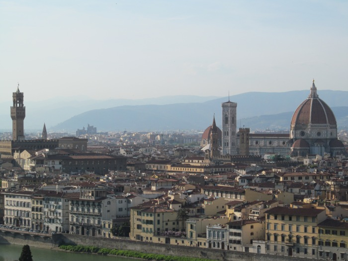 The view overlooking Florence, Italy via MontgomeryFest