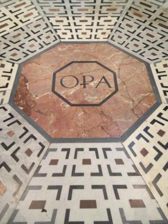 Duomo floor in Florence, Italy via MontgomeryFest