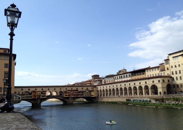 The Arno in Florence, Italy via MontgomeryFest