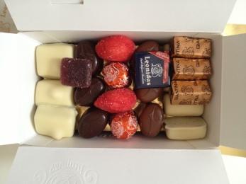 Belgian chocolate via MontgomeryFest