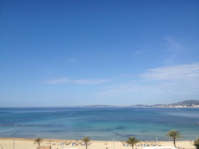 Palma de Mallorca beach via MontgomeryFest
