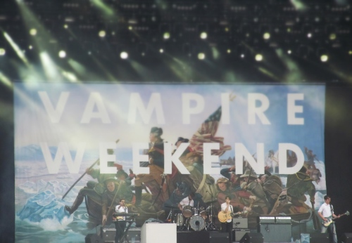 Vampire Weekend at Rock Werchter, Belgium